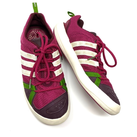 Adidas ClimaCool Water Grip Purple Sneakers